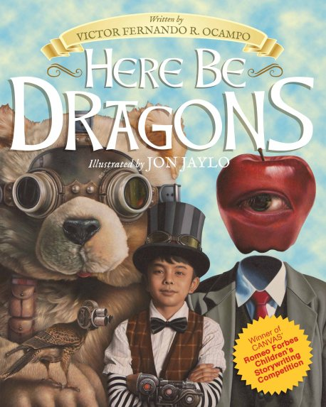 COVER - Here Be Dragons