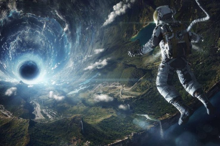 204191-space-astronaut-black_holes-lens_flare-Earth-748x499